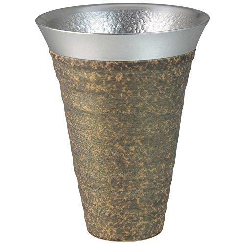 ランチャン(Ranchant) 錫陶フリーカップ マルチ φ10x13cm 月光(金) 有田焼 日本製 B06VWPVBDF  月光(金) 錫陶フリーカップ