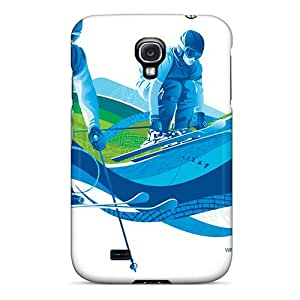 S4 Scratch-proof Protection Case Cover For Galaxy/ Hot Freestyle Skiing Ski Cross Phone Case