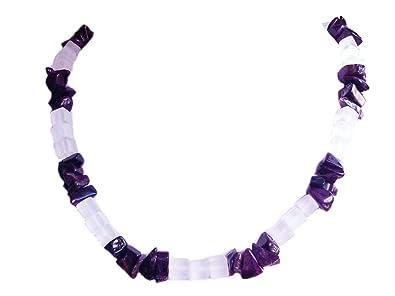Sugilith Sugilit Bergkristall Edelstein Halskette Kette Größenwahl