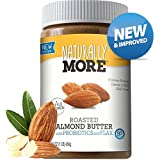 Naturally More All Natural Roasted Almond Butter w/ Probiotics 16 oz.