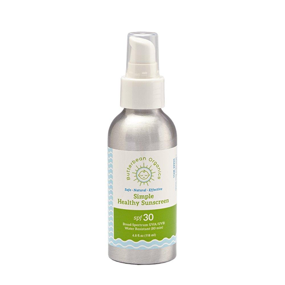 Simple Formula Sunscreen 4oz Butterbean Organics