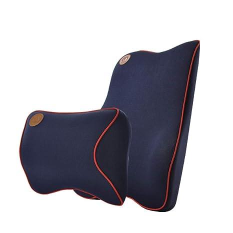 Soporte Lumbar Espalda Amortiguador & Reposacabezas Cuello ...