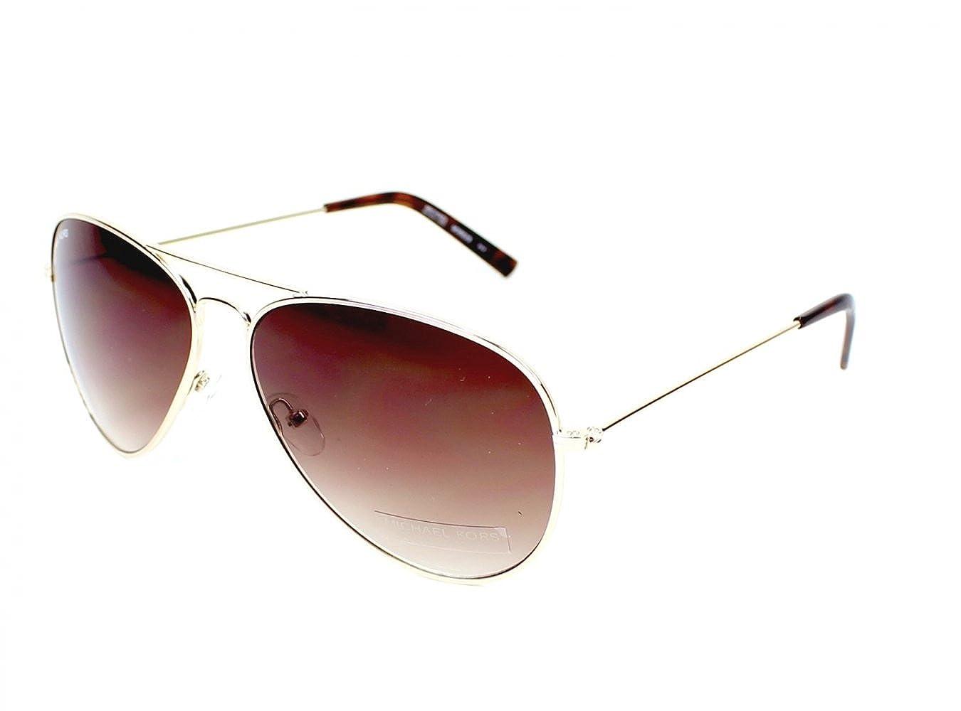 0f8fa8b87be4 Michael Kors sunglasses M 3002 S 717 Metal Gold Brown Gradient:  Amazon.co.uk: Clothing