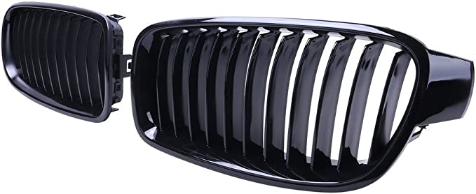 A-PADS Black Upper Mesh Grille With Silver Rivets For Dodge Ram 2500//3500 10//11//12
