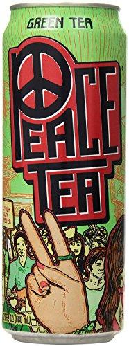 Peace Tea, Green Tea, 23 Ounce (Pack of (Peace Green Tea)