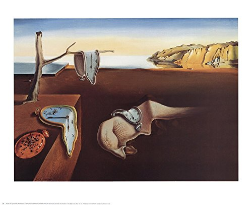 (The Persistence of Memory, c.1931 by Salvador Dali Art Print, 27 x 22 inches)