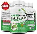 coffee bean extract pure mg - Maximum Green Coffee Bean Extract - Highest Dose 1600mg per Day - 100% Pure & Natural - Appetite Suppressant & Extreme Fat Burner - Made with 50% Chlorogenic Acid for Best Weight Loss Results