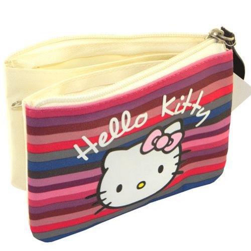 Hello Kitty - Cartera de mano para mujer