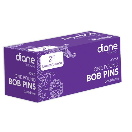 Diane Bobby Pins, Bronze, 2 Inch, 1 Count