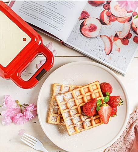 miaomiao Poêle à frireFer Sandwich Maker Machine Bubble Egg Cake Four Petit Déjeuner Gaufre Machine 220v600w Électrique Gaufres Maker