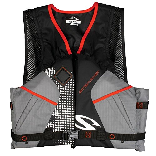 - Stearns 2200 Comfort Series™ Adult Life Vest Pfd - Black - Large USCG Approved = Yes ; Type = NONE ; Size = L ; H