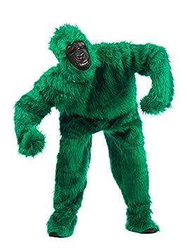 Gorilla Deluxe Disfraz Verde: Amazon.es: Juguetes y juegos
