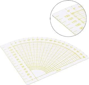 Tailor Sewing Tool Quilting Patchwork Scrapbook Circle Fan Foot Ruler DIY HOT