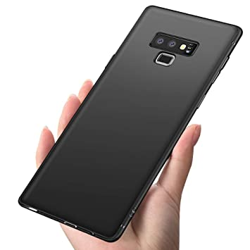 Funda Samsung Note 9, Infreecs carcasa galaxy note 9 Funda Ultra Fina Cover Anti-Arañazos Anti-Shock Silicona TPU Protectora Funda Bumper Case para ...