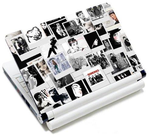 MySleeveDesign Notebook Skin Aufkleber Folie Sticker für Geräte der Größe 10,2 Zoll / 11,6 - 12,1 Zoll / 13,3 Zoll / 14 Zoll / 15,4 - 15,6 Zoll mit VERSCH. DESIGNS - Photos