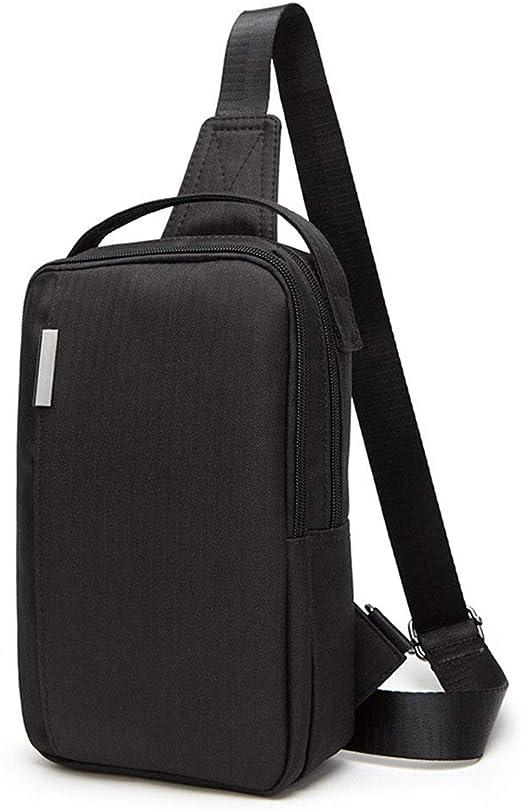 XDD Sling Pack para Hombre, Bolsa de Pecho, Mochila Multiusos de Honda, Bolsa de Viaje de Viaje,B: Amazon.es: Jardín