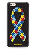 Inspired Cases 3D Textured Autism Puzzle Piece Awareness Ribbon Case for iPhone 6 & 6s