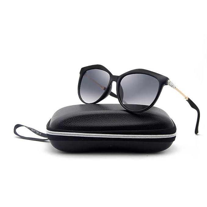 c370972f273 VeBrellen Women s Polarized Sunglasses UV Protection Eyewear Transparent  Frame  Amazon.co.uk  Clothing