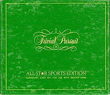 Trivial Pursuit All-Star Sports Edition (Subsidiary card set for use with Master Game)Outdated Version by Trivial Pursuit (Best Version Of Trivial Pursuit)