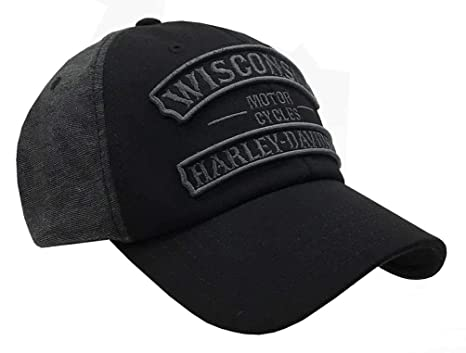 480edd26 Image Unavailable. Image not available for. Color: Harley-Davidson Men's  Embroidered Vintage Rockers Baseball Cap ...