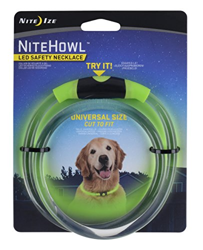 Nite Ize NiteHowl LED Dog Light Collar Safety Necklace