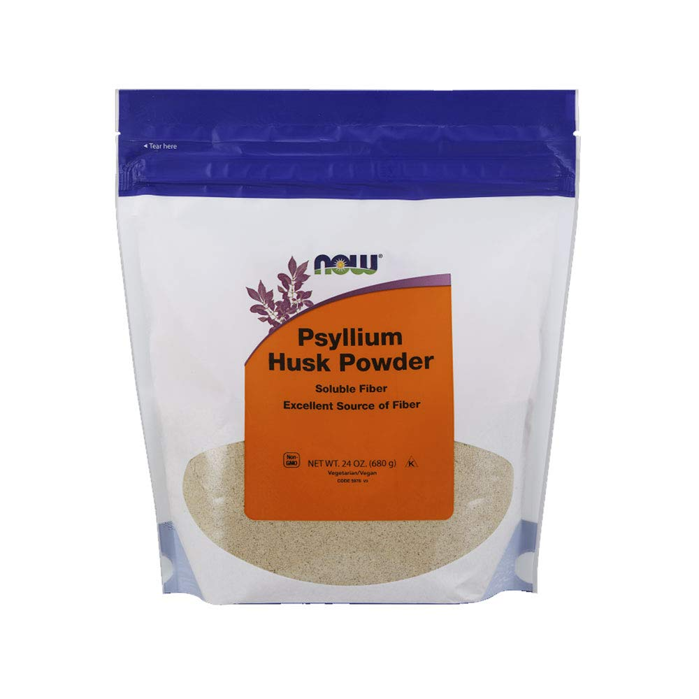 NOW  Psyllium Husk Powder,24-Ounce by NOW Foods