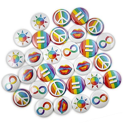 30 LGBT Pride Mini- Pins. 1