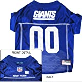 NEW YORK GIANTS Dog Jersey ALL SIZES Licensed NFL
