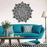 zeshlla pegatinas de pared Mandala flor indio pared recámara calcomanía Mural de arte pegatinas hogar vinilo familia