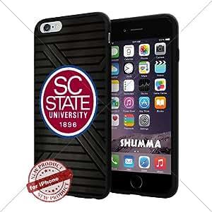 "NCAA-South Carolina State Bulldogs,Cool iPhone 6 Plus (6+ , 5.5"") Smartphone Case Cover Collector iphone TPU Rubber Case Black"