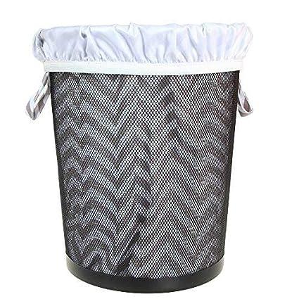 botes de basura de cocina Caqui lavander/ía bolsa mojada lavable a m/áquina impermeable para pa/ñales de tela Revestimiento del cubo reutilizable para pa/ñales de tela