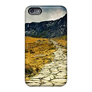 Durable Hard Phone Case For Apple Iphone 6 (fEA29624gPpD) Support Personal Customs Attractive Stone Path In Wales Highls Image