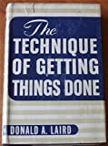img - for The Technique of Getting Things Done book / textbook / text book