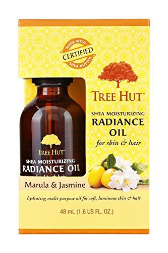 Tree Hut Shea Moisturizing Radiance Oil Marula & Jasmine, 1.6oz, Ultra Hydrating Oil for Nourishing Essential Body Care (Oil Dry Jasmine)