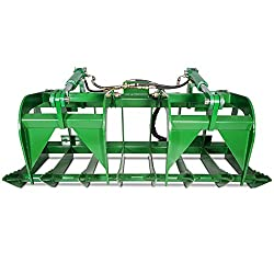 "Titan Attachments 60"" John Deere Root Grapple"