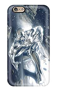 6 Scratch-proof Protection Case Cover For Iphone/ Hot Silver Surfer Phone Case