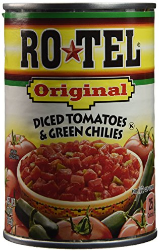Ro-tel Diced Tomatoes & Green Chilies - 10 oz