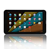 "9"" Quad Core Android Tablet PC, 1GB+8GB MTK 8321 WIFI Tablet, 1024X600 HD Touch Screen Unlocked Display Support Bluetooth 4.0 Dual SIM 3G Phablet Phone, FCC Certified (Black)."