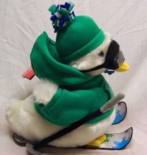 AFLAC HOLIDAY/SKIING Talking Plush (2013 Macy's Edition)