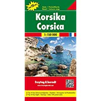 Corsica Road Map (Country Road & Touring) (Road Maps)