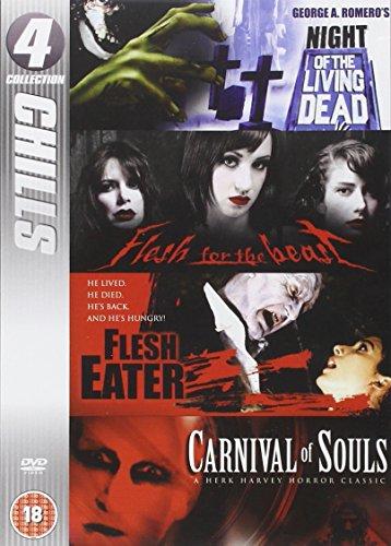 Colección 4 - Chills: Noche de los Muertos Vivos; carne para la Bestia; Comedero de carnaval de almas [DVD]