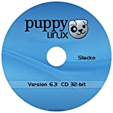 "Puppy Linux ""Slacko"" New Version 6.3.2 - 32-bit on CD"
