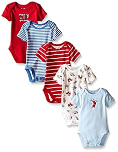 The Children's Place Baby Boys' 5 Pack Bodysuits