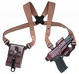 Galco Jackass Rig Shoulder System for 1911 5-Inch Colt, Kimber, Para, Springfield (Havana,...