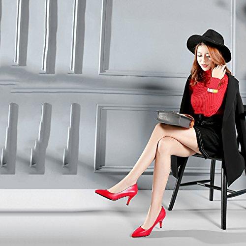 Pompes Basses Chaussures pour de Mariage Nuptiales Talons red Chaussures Chaussures Mode DKFJKI Femmes Danse de Eau à 0HUFxtn