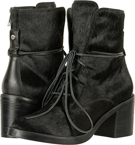 UGG Womens Oriana Exotic Ankle Boot Black Size 8