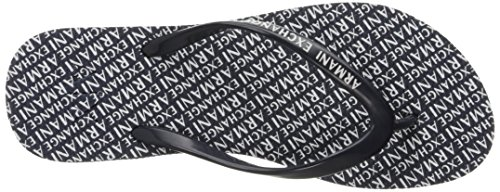 Ax Womens Flop Armani Flop Flip Logo Exchange X Flip Over A Printed All Exchange Classic Navy Armani qOUIt