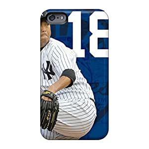 High Quality Mobile Cover For Apple Iphone 6 Plus With Custom HD New York Yankees Skin LeoSwiech