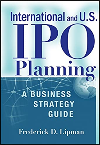 Download International and US IPO Planning by Frederick D