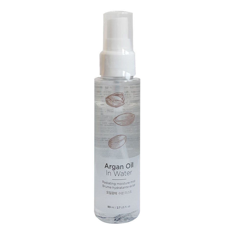 The Faceshop Argan Oil In Water Radiating Moisture Mist 80ml The Face Shop